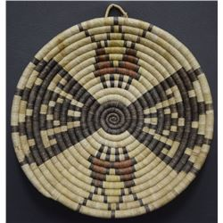 HOPI INDIAN BASKETRY BOWL