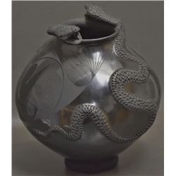 MATA ORTIZ POTTERY JAR (TALAVERA)