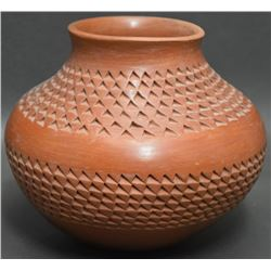 HOPI INDIAN POTTERY JAR (GARNET PAVATEA)