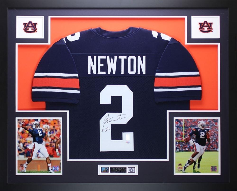 197930d07 Image 1 : Cam Newton Signed Auburn Tigers 35