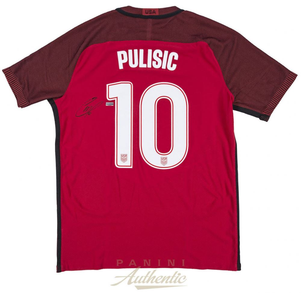 detailed look 7cb55 5068b Christian Pulisic Signed Team USA Nike Jersey (Panini COA)