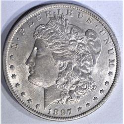 1897-O MORGAN DOLLAR, BU