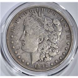 1892-S MORGAN SIVER DOLLAR