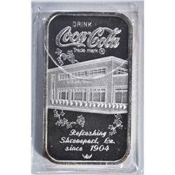 1 OZT .999 (COKE BAR) SHREVEPORT, LA