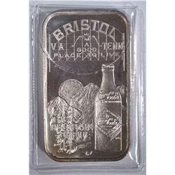 1 OZT .999 (COKE BAR) BRISOL, TN/VA