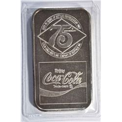 1 OZT .999 (COKE BAR) BUFFALO, NY