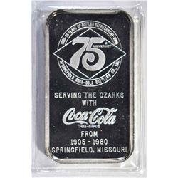 1 OZT .999 (COKE BAR) SPRINGFIELD, MO