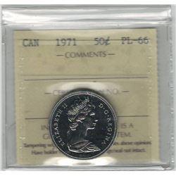 Canada 1971 50 Cent ICCS PL66