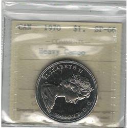 Canada 1970 Dollar ICCS SP66