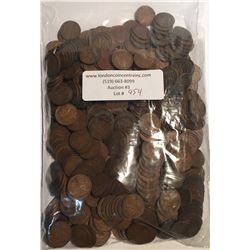 Canada Bulk Lot of Unsearched Circulated Mostly George VI Pennies