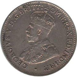 Australia 1918M Silver 3 pence