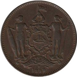 British North Borneo 1889H 1 Cent