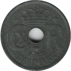 Denmark 1943 N GJ 25 Ore