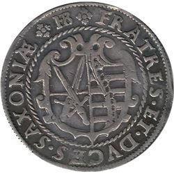 German States Saxony-Albertine 1601 HB 1/4 Thaler