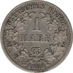 Germany 1883F Silver Mark