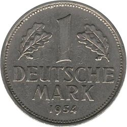 Germany 1954J Mark