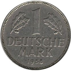 Germany 1958G Mark
