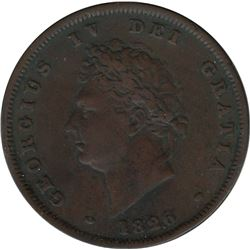 Great Britain 1826 Penny