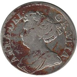 Greeat Britain 1714 Silver Shilling