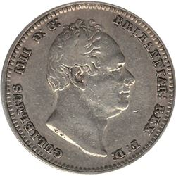 Great Britain 1834 Silver Shilling