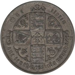 Great Britain 1883 Silver Florin