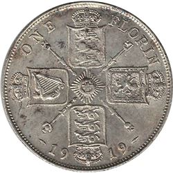 Great Britain 1919 Silver Florin