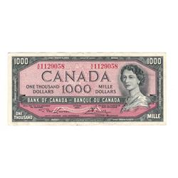Canada 1954 $1000 Banknote Lawson-Bouey A/K