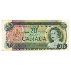Canada 1969 $20 Replacement Banknote Beattie-Rasminsky *EM