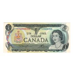 Canada 1973 $1 Replacement Banknote Lawson-Bouey *FG