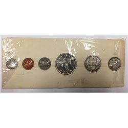Canada: 1957 Proof Like / PL Coin Set in Orginal Cardboard