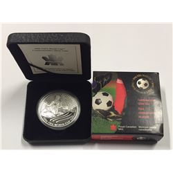 Canada 2003 $5 FIFA World Cup 2006 Germany Silver Coin