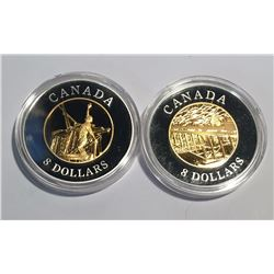 Canada 2008 $8 Chinese Railway Workers Set in Capsule Only