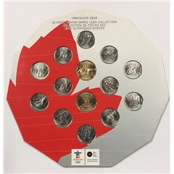 Canada 2010 Vancouver Olympic Winter Games Coin Collection