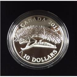 Canada 2012 $10 Praying Mantis Silver Coin