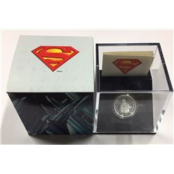 Canada 2013 $10 Vintage Superman™ 1/4 oz Silver Coin