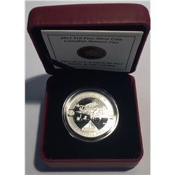 Canada 2013 $10 Canadian Summer Fun O Canada Series 1/2 oz Pure Silver Coin