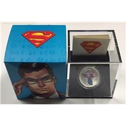 Canada 2013 $15 Modern Day Superman™ Silver Coloured Coin