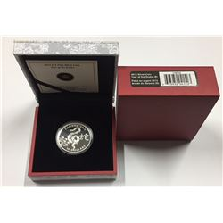 Canada 2013 $15 The Year of The Snake Silver Coin