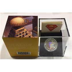 Canada 2013 $20 Superman™ & Metropolis Silver Hologram Coin