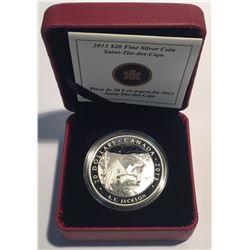 Canada 2013 $20 A.Y. Jackson, Saint-Tite-des-Caps Silver Coin