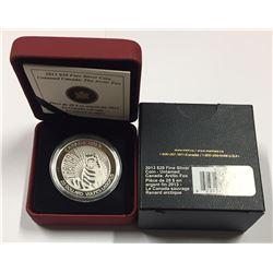 Canada 2013 $20 Arctic Fox Pure SIlver Coin