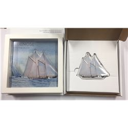 Canada 2017 Real Shape Iconic Canada Silver Bluenose