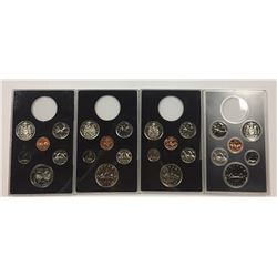 Canada Double Dollars sets without the Silver Dollars (10 sets)