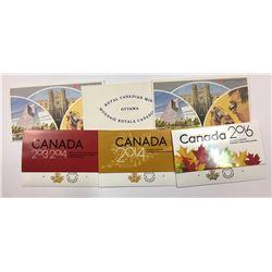 Canada 1972, 1979, 1982, 2013-14, 2014, 2016 Proof Like Sets