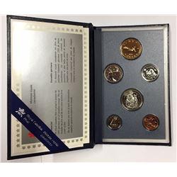 Canada 1995 Specimen Coin Set
