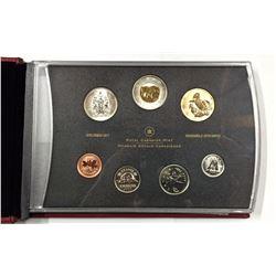 Canada 2005P Tufted Puffin Specimen Coin Set