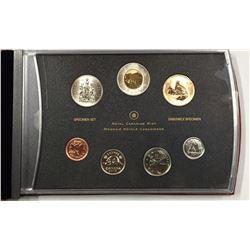 Canada 2008 Common Eider Dollar Specimen Coin Set