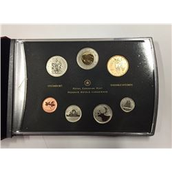 Canada 2010 Northern Harrier Specimen Coin Set