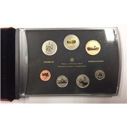 Canada 2011 $2 Toonie Special Edition Specimen Coin Set - Elk Calf