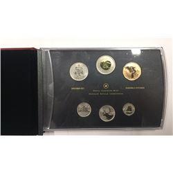 Canada 2014 Specimen Coin Set with Ferruginous Hawk